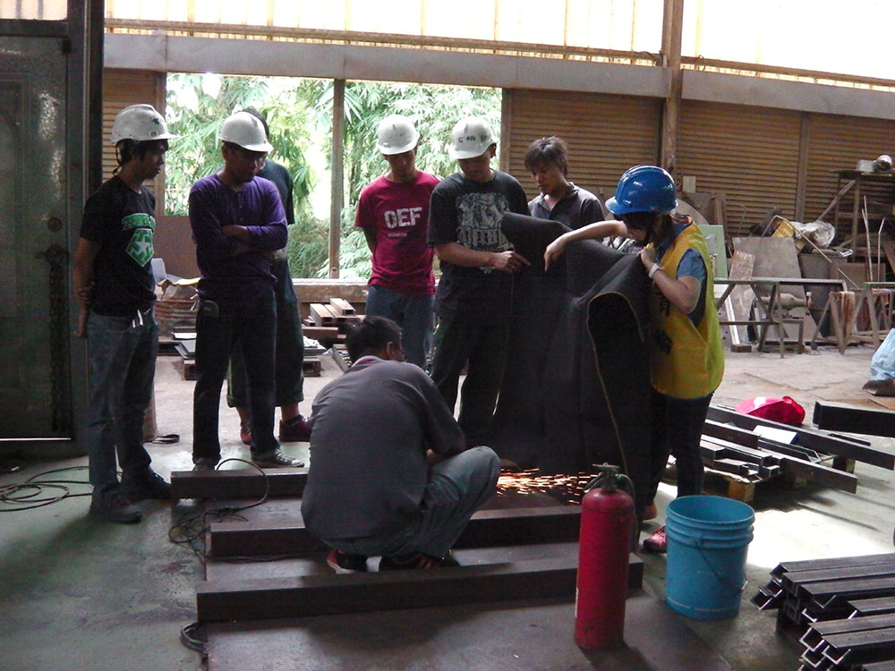 Occupational safety-hot work operation
